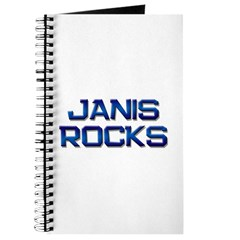 janis rocks Journal
