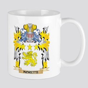 Moretti Coat of Arms - Family Crest Mugs