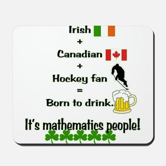 St. Patrick's Day Mathematics Mousepad