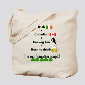 St. Patrick's Day Mathematics Tote Bag