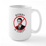 Bobby is Creepy Large Mug