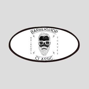 Barber Hairstylist Barbershop Classic Haircu Patch