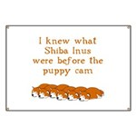 Shiba Puppy Cam Banner