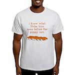 Shiba Puppy Cam Light T-Shirt