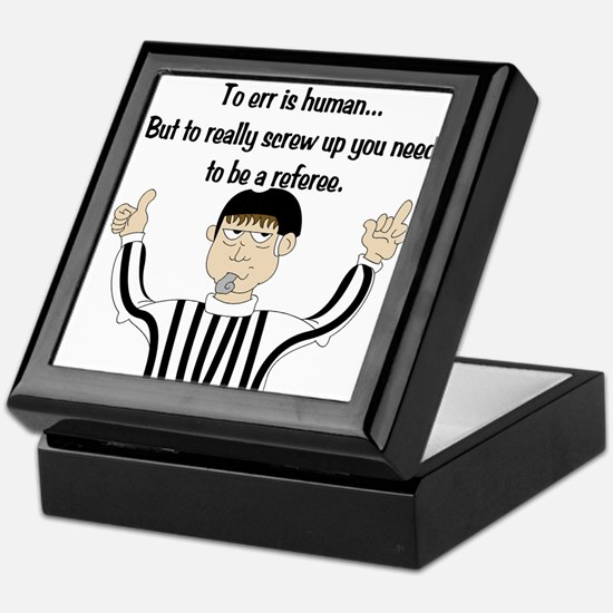 To Err is Human... Keepsake Box