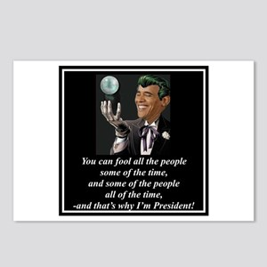 """Obama's Secret"" Postcards (Package of 8)"