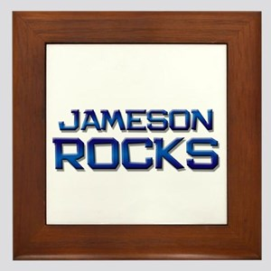 jameson rocks Framed Tile