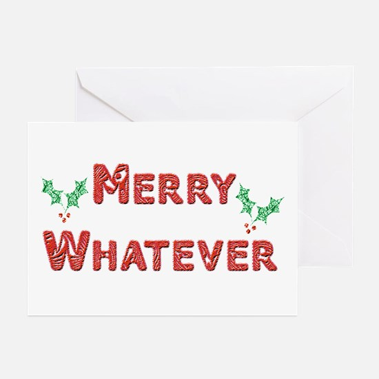 Merry Whatever Greeting Cards (Pk of 10)