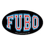 FUBO anti-Obama Oval Sticker