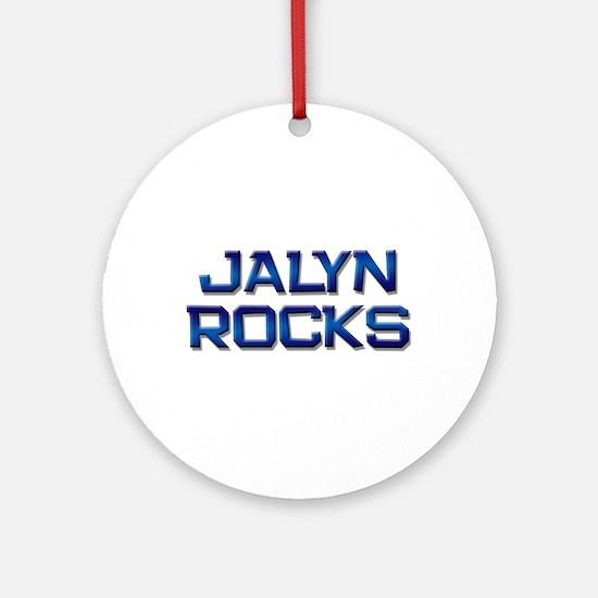 jalyn rocks Ornament (Round)