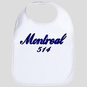 Montreal 514 Quebec Canada Bib