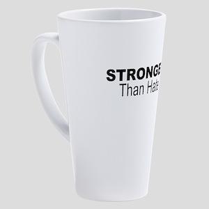PGH strong 17 oz Latte Mug