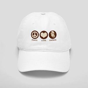 Peace Love Darwin Cap