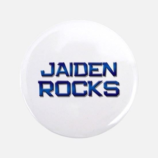 """jaiden rocks 3.5"""" Button"""