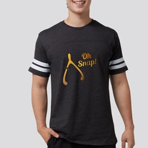 Oh Snap Thanksgiving Turkey Wishbone T-Shirt