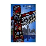 Vancouver Canada Souvenir Mini Poster Print