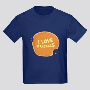 I Love Pancakes - Kids Dark T-Shirt