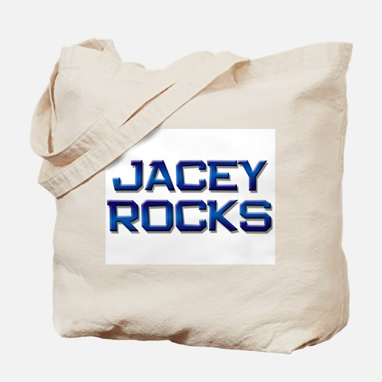 jacey rocks Tote Bag