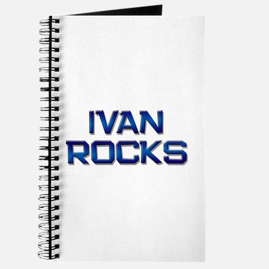 ivan rocks Journal