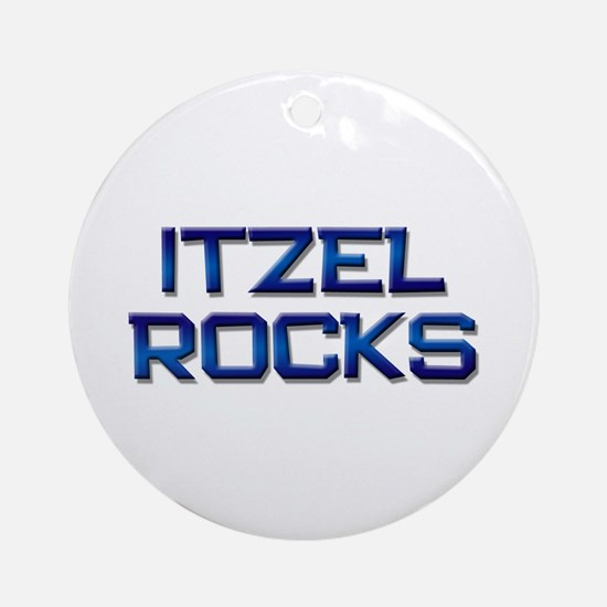 itzel rocks Ornament (Round)