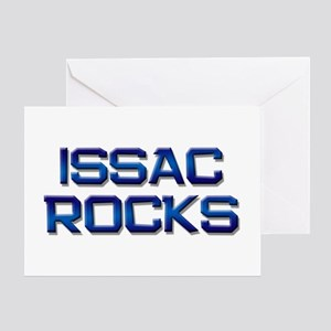 issac rocks Greeting Card