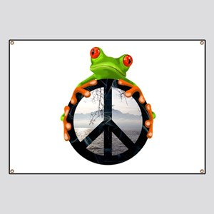 peace frog1 Banner