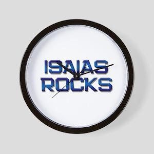 isaias rocks Wall Clock