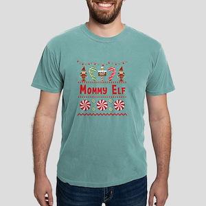 Mommy Elf Ugly Sweater Christmas Elf Desig T-Shirt