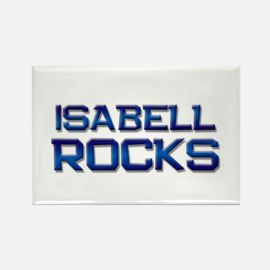 isabell rocks Rectangle Magnet