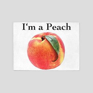 peach 5'x7'Area Rug