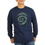 Snake Long Sleeve Dark T-Shirt