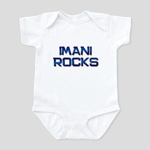 imani rocks Infant Bodysuit