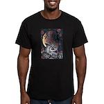 Night Magic Men's Fitted T-Shirt (dark)