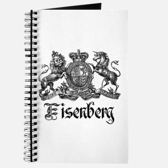 Eisenberg Vintage Family Crest Journal
