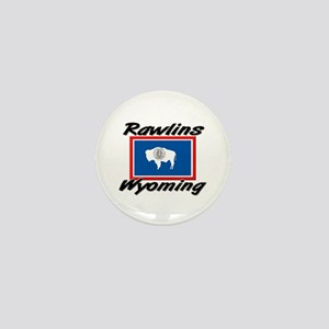 Rawlins Wyoming Mini Button