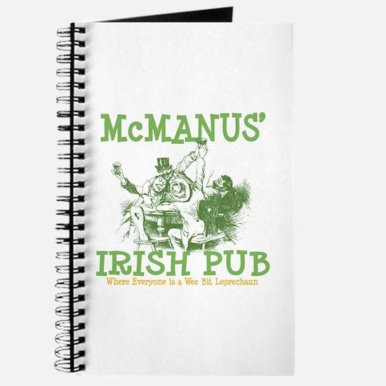 McManus' Irish Pub Personalized Journal
