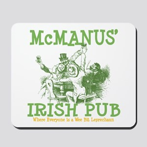 McManus' Irish Pub Personalized Mousepad