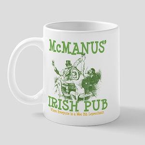 McManus' Irish Pub Personalized Mug