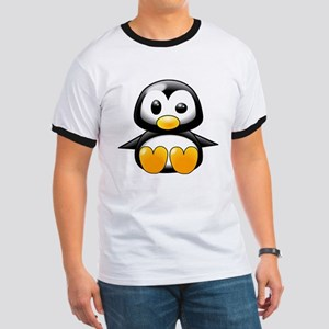 Baby Penguin Ringer T