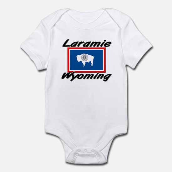Laramie Wyoming Infant Bodysuit
