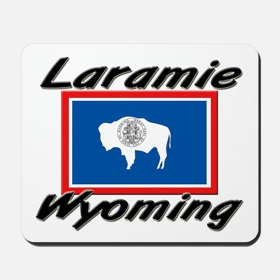 Laramie Wyoming Mousepad