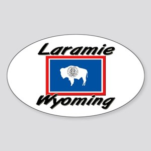 Laramie Wyoming Oval Sticker