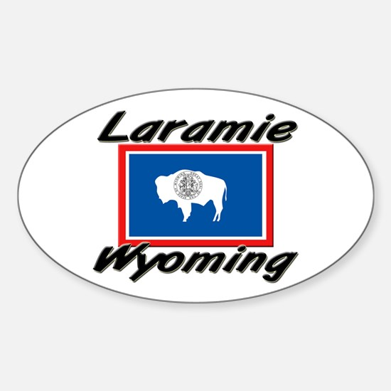 Laramie Wyoming Oval Decal