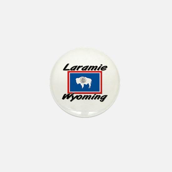Laramie Wyoming Mini Button