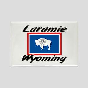 Laramie Wyoming Rectangle Magnet