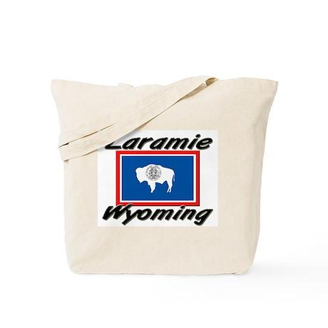 Laramie Wyoming Tote Bag