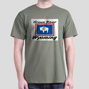 Green River Wyoming Dark T-Shirt