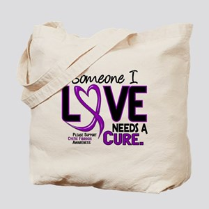 Needs A Cure 2 CYSTIC FIBROSIS Tote Bag