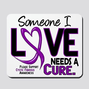 Needs A Cure 2 CYSTIC FIBROSIS Mousepad