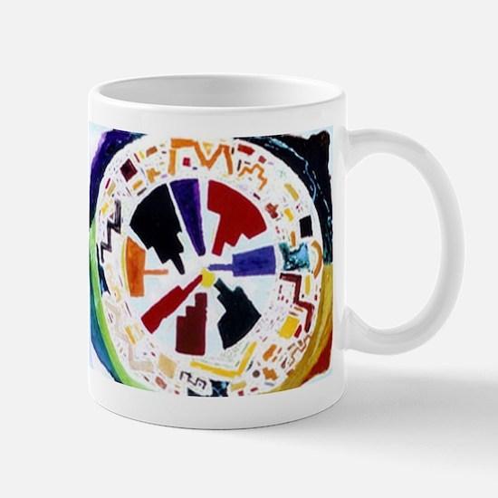 """City/Self Mandala"" products Mug"